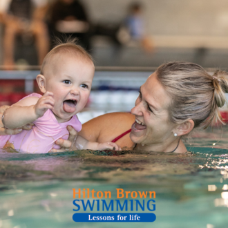 Hilton Brown Swimming
