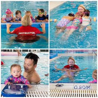 Kids swimming lessons at  YMCA Auckland