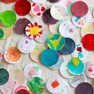 Make your own paper stickers