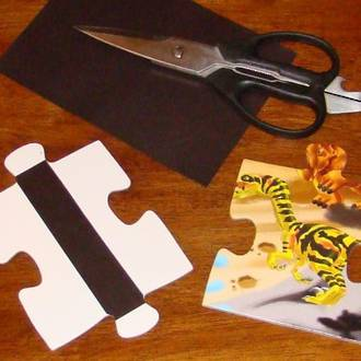 Magnetic puzzles for toddlers & preschoolers