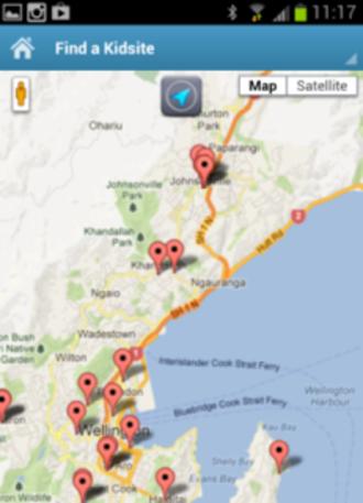 Kiwi Kidsites App