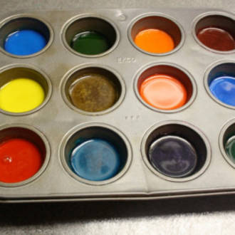 Make your own non-toxic watercolour paints