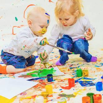 Questions to ask pre-schoolers about their artwork
