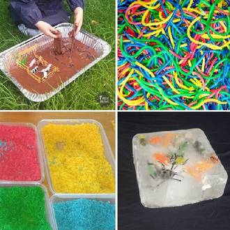7 Sensory play ideas for toddlers & preschoolers