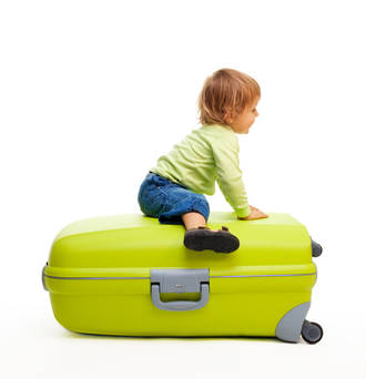 6 Tips on travelling with young kids