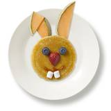 Easter rabbit pancakes recipe