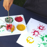 Nature art activities for toddlers & preschoolers