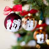Create a Christmas tree decoration tradition
