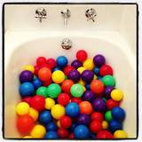 Make your own ball bath