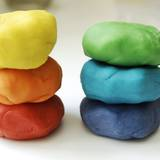Make your own colourful clay