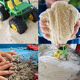 Make your own sand foam