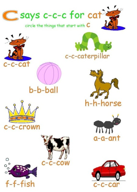 5 letter words that begin with c activity sheet for preschool learning about the 28146 | Stepping Ahead Activity Sheet Letter C