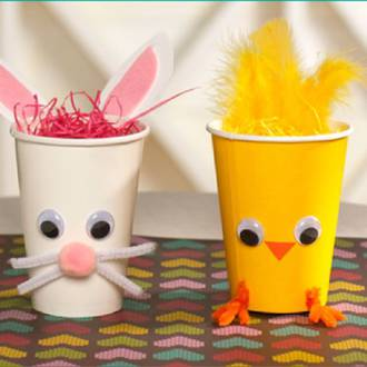 How to make your own easter baskets perfect for kids easter eggs easter baskets negle Choice Image