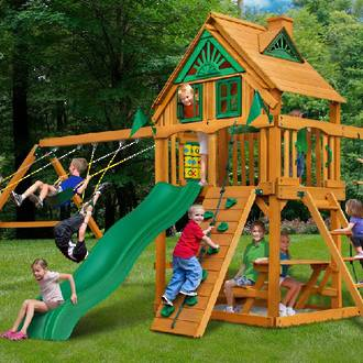 Kiwiplay Kids Outdoor Playground Equipment
