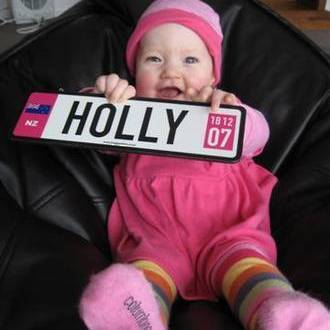 Buggy plates personalised baby buggy number plates gifts porirua buggy plates are an ideal gift for your trendy little boy or girl buggy plates can also be used on a tricycle bike your babys bedroom door negle Gallery