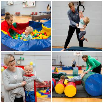 YMCA Active Play Gym