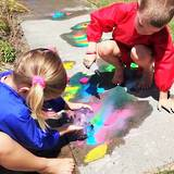 Make your own ice chalk paints